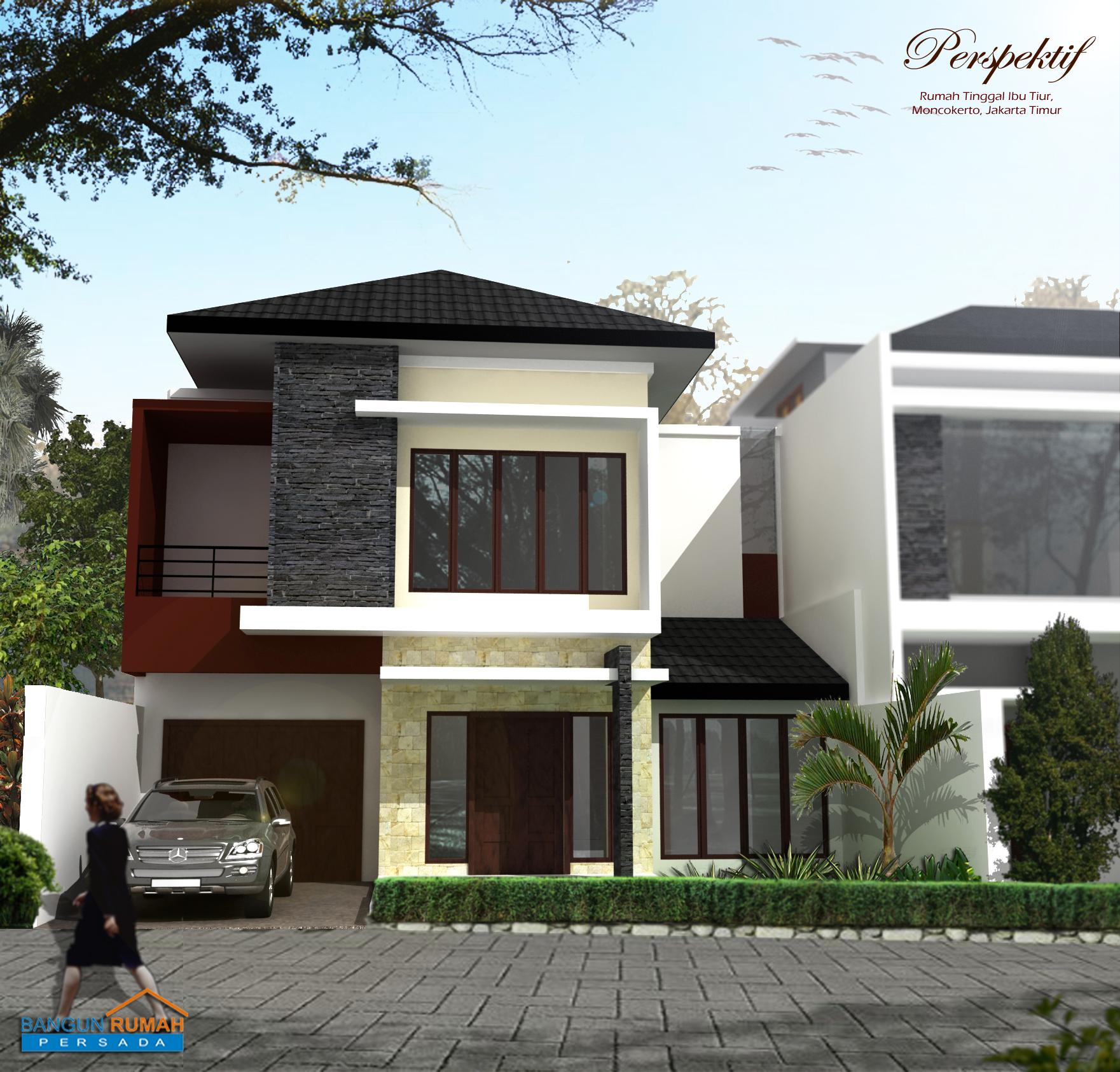 Desain Rumah / Bangun Rumah di Utankayu Jakarta Timur